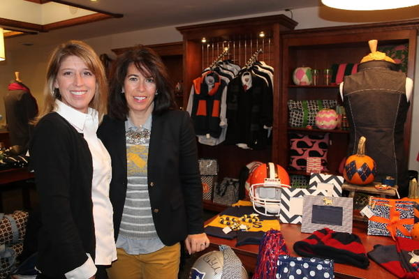 From left to right, Robin Cowling and Paula Kille are owners of Anything Preppy, the new boutique that opened in the beginning of September within Simsmore Tennis Club in Simsbury.