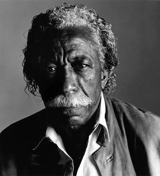 Photographer and director Gordon Parks.