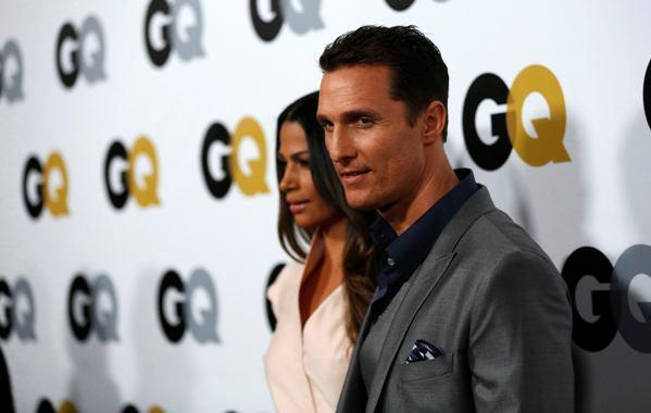 Matthew McConaughey at the annual GQ Man of the Year party in November.