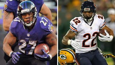 Who's picking the Ravens to beat the Chicago Bears?