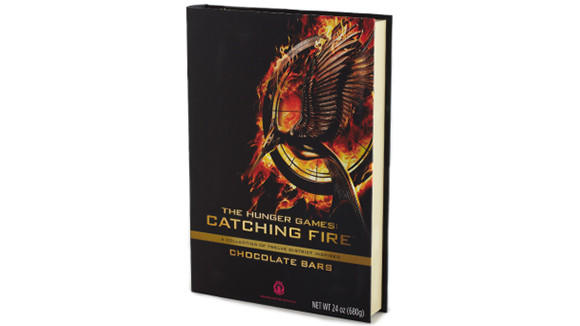 The Hunger Games Wild Ophelia Chocolate Library, which contains 12 bars and costs $65.