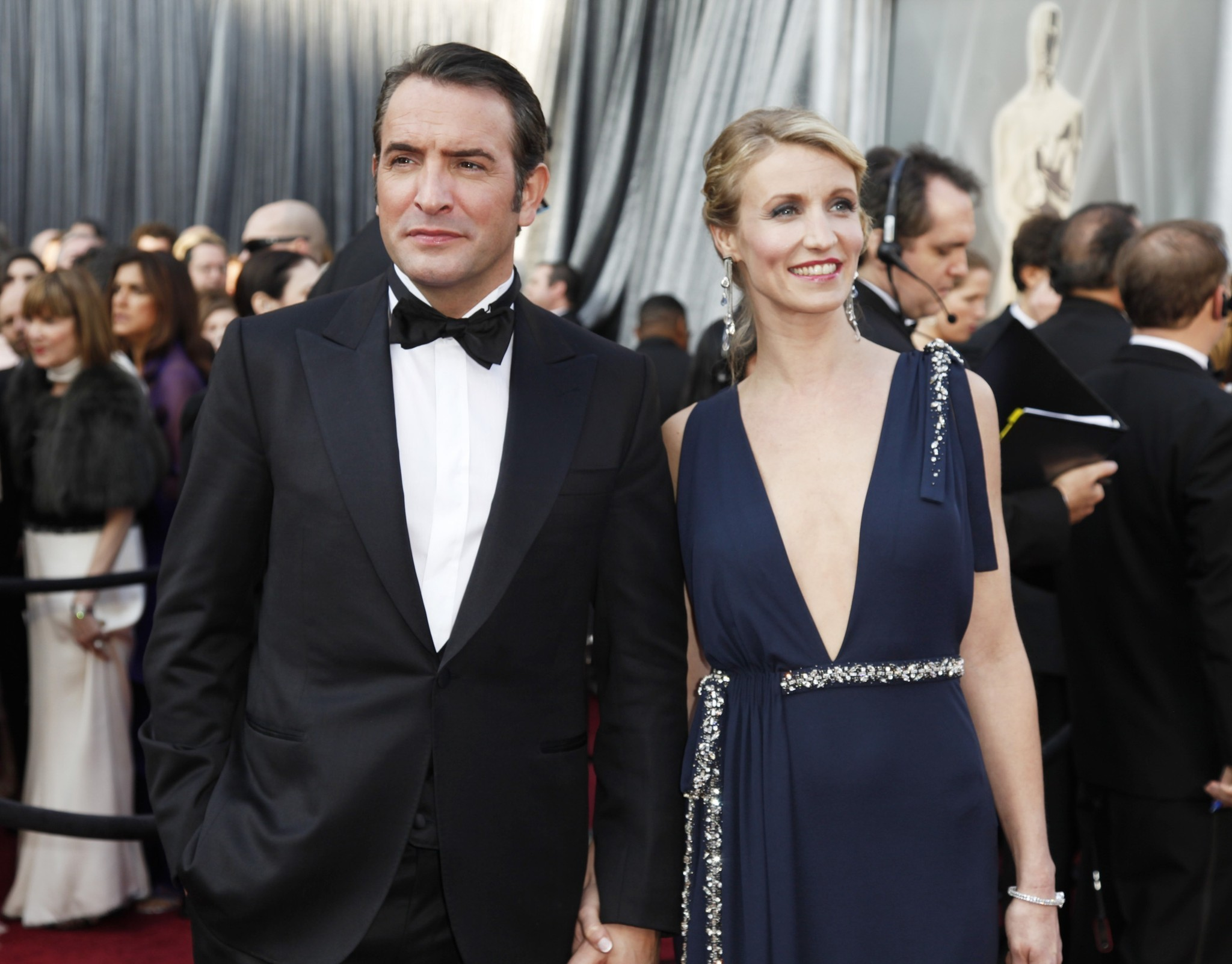 39 the artist 39 star jean dujardin splits from wife alexandra for Alexandra dujardin