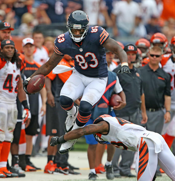 Bears tight end Martellus Bennett is a man of many nicknames.