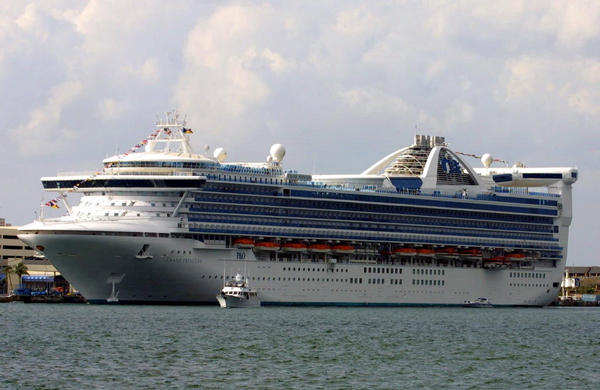 Princess Cruises Says Ship Passenger Intentionally Jumped