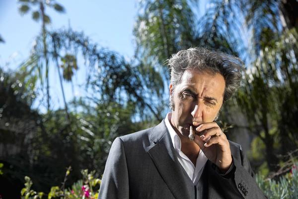 Italian director Paolo Sorrentino at the Four Seasons hotel in Los Angeles.