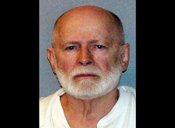 "James ""Whitey"" Bulger is pictured in a June 23, 2011, booking photo provided by the U.S. Marshals Service. Bulger fled Boston in 1994 and was captured 2011 in Santa Monica."