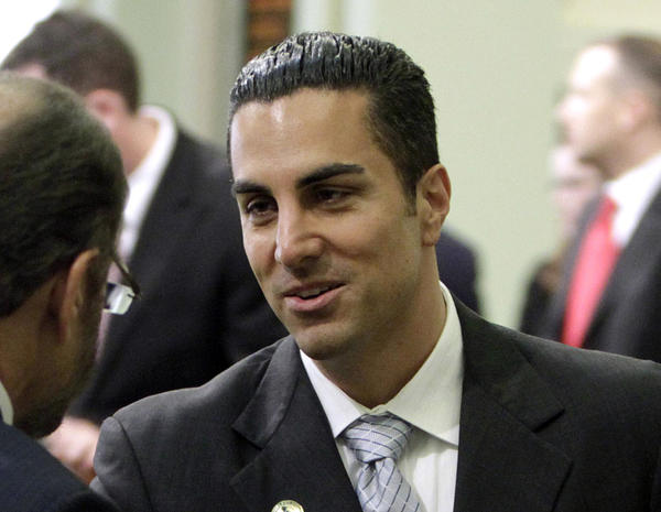 Assemblyman Mike Gatto (D-Los Angeles), shown after his June 2010 swearing in at the Capitol in Sacramento.