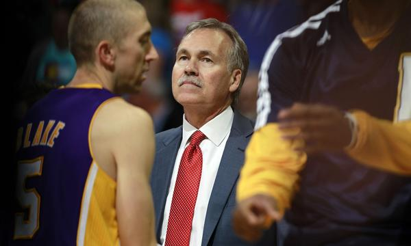 Lakers Coach Mike D'Antoni will look to steer the Lakers to a win over the Memphis Grizzlies on Friday.