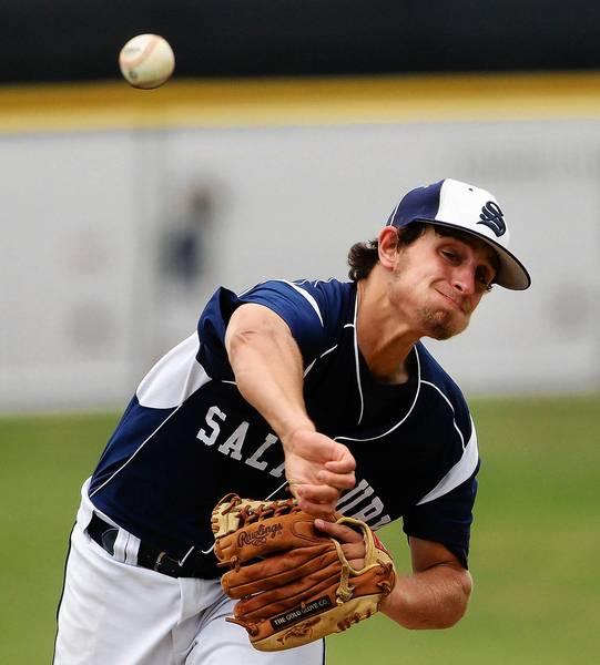 Salisbury High School senior Justin Aungst will play baseball at Saint Joseph's University.