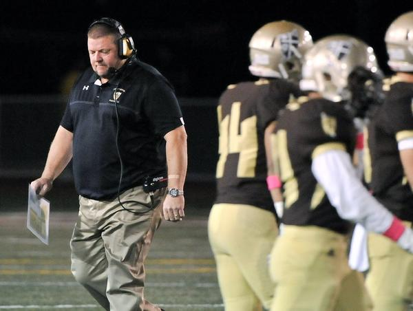 St. Francis coach Jim Bonds and his Golden Knights are hoping to bounce back after consecutive losses to end the regular season. St. Francis travels to Culver City on Friday for the first round of the CIF-SS Western Division playoffs. (Tim Berger/File Art)