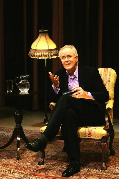 John Lithgow performs 'Stories By Heart' Nov. 16 at Zoellner Arts Center in Bethlehem.