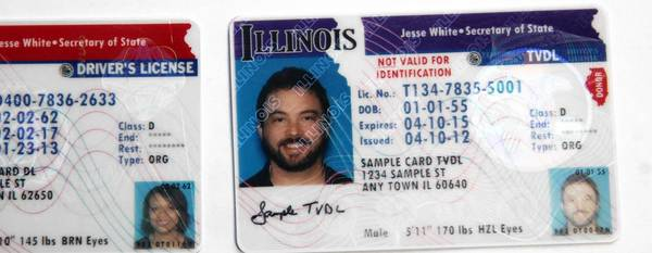 A specialized license, right, would allow an undocumented immigrant the ability to drive legally in Illinois, but it cannot be used as a form of identification to board a plane, vote or buy a gun.