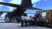 Foreign relief operations bring aid to Philippines