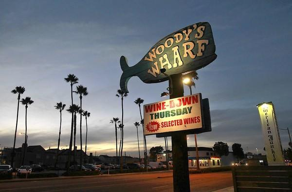 Woody's Wharf is a favorite nightlife spot on the Balboa Peninsula.