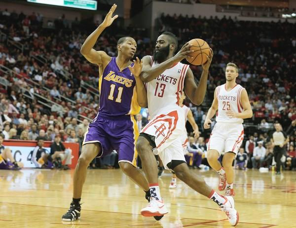 James Harden, Wesley Johnson