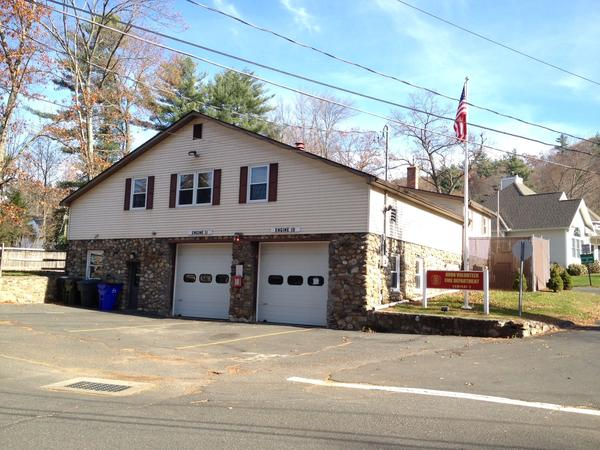 A view of the Avon Volunteer Fire Department's Company 2 firehouse on Secret Lake Road. The department is seeking to replace the cramped and antiquated facility with a new firehouse on Loveely Street.