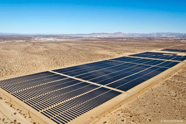 Google is investing in six solar farms in Arizona and California, including this solar project in San Bernardino County.