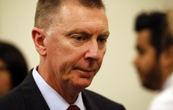 At a news conference at LAUSD headquarters L.A. schools Supt. John Deasy said, Im very sorry we had to go through this.