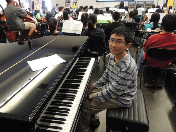 Nathan Chao, 17, of Arcadia High School earned a perfect score on the AP Calculus BC exam. Nathan has maintained straight A's in high school and plays the violin and piano in the school's symphony orchestra.
