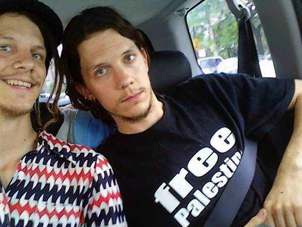 Jeremy Hammond (right), with twin brother Jason, pleaded guilty in May to hacking into several secure websites, revealing the personal and financial information of law enforcement officers, private intelligence agencies and military contractors.
