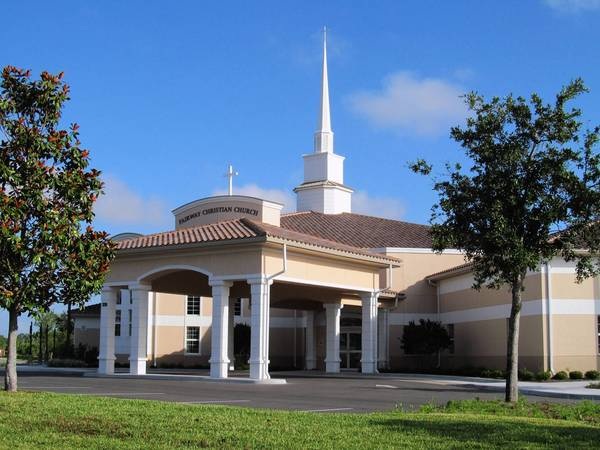 Fairway Christian Church's new sanctuary.