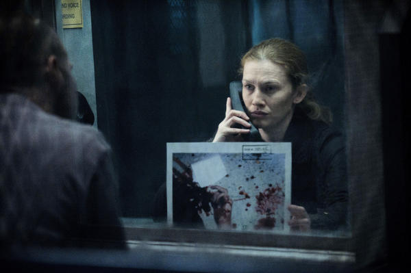 "Mireille Enos as Sarah Linden in ""The Killing."""