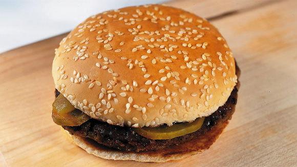 A McDonald's Quarter Pounder.