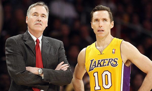 Lakers Coach Mike D'Antoni and point guard Steve Nash have faced their fair share of criticism this season.