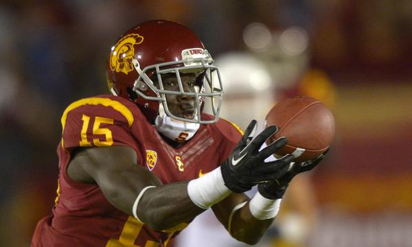 USC's Nelson Agholor returned two punts for touchdowns against Cal last week. Is he capable of producing another standout performance against Stanford on Saturday?
