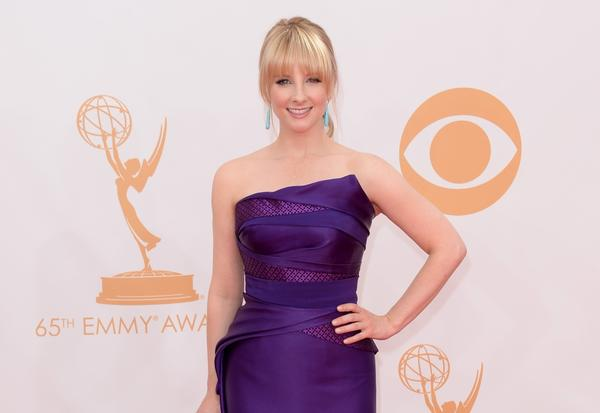 Melissa Rauch poses for Maxim