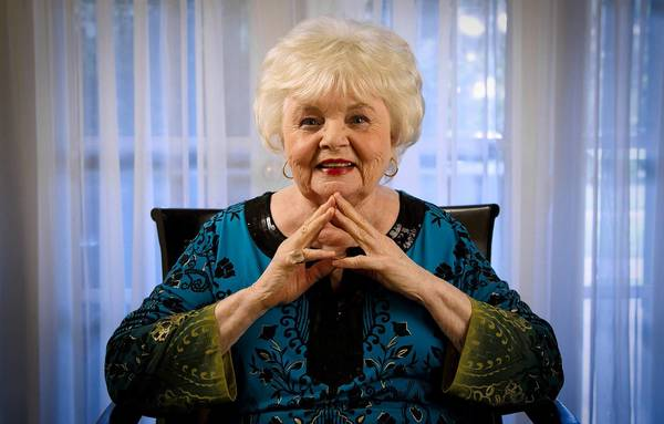 Character actress June Squibb at the Four Seasons hotel in Los Angeles.
