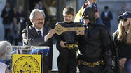 Batkid, a tiny cancer survivor who stole hearts and saved the day