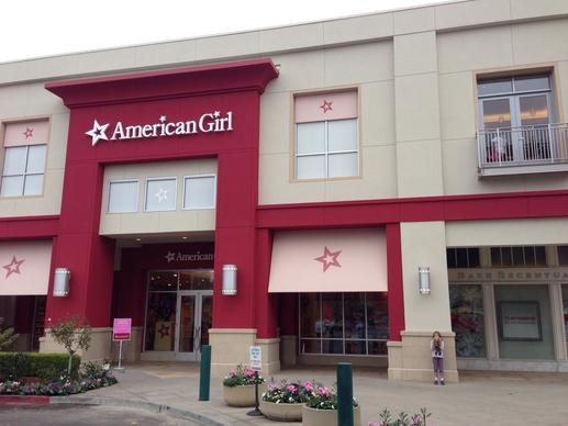 The new American Girl store at the Stanford Shopping Center in Palo Alto.