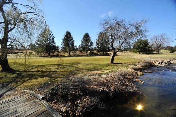 The grounds of the former Indian Creek Golf Course in Emmaus pictured on Thursday, March 14, 2013. A