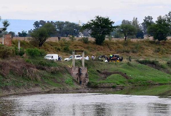 The area in La Barca, in Mexico's Jalisco state, where authorities found 19 bodies.