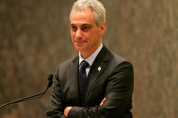 Mayor Rahm Emanuel presides over the meeting of the Chicago City Council Wednesday Nov. 13, 2013.