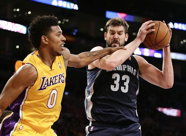Nick Young, Marc Gasol