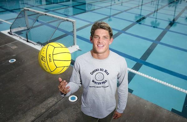 Corona del Mar High boys' water polo player Matt Sherburne is the Daily Pilot High School Athlete of the Week.