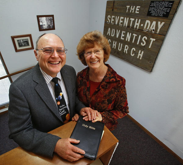 Pastor George and Jean Shaver, team ministers with the Seventh-day Adventist Church in Aberdeen.