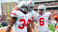 Photos: Ohio State 60, Illinois 35