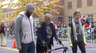 Boston bombing survivor: 'We're not afraid to be back at the finish line'