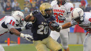 With all eyes on Reynolds, Navy's Staten dominates in 42-14 rout of South Alabama