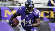 Fullback Vonta Leach remains punishing, even as his role on Ravens is diminishing