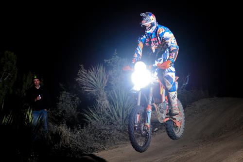 Motocross champion Kurt Caselli, 30, died from injuries sustained during an off-road race in Mexico's Baja California.