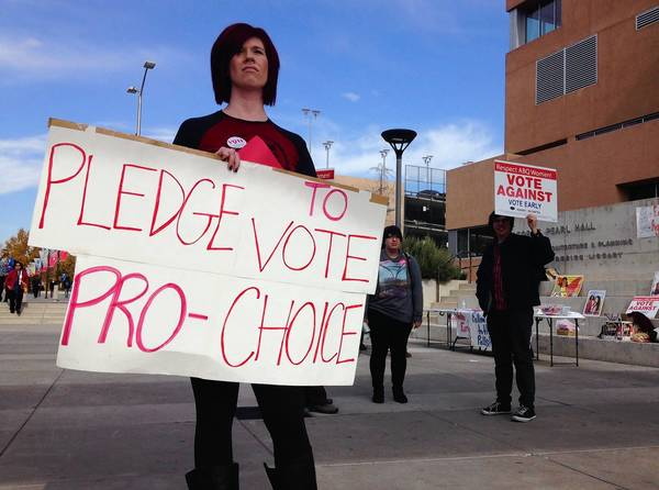 A ballot initiative in Albuquerque that would bar abortions after 20 weeks has ignited campaigns on both sides.