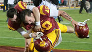 Andre Heidari's foot doesn't fail USC in 20-17 upset of No.5 Stanford
