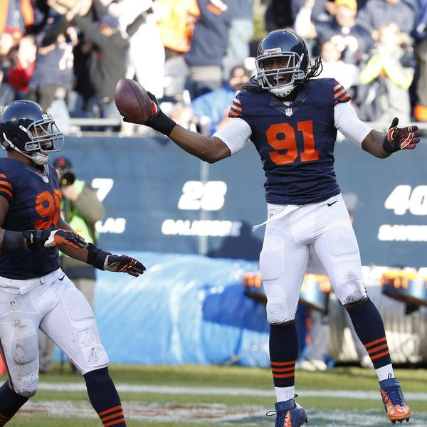 Chicago Bears defensive end David Bass ( Photo Credit: Jose M. Osorio/ MCT)