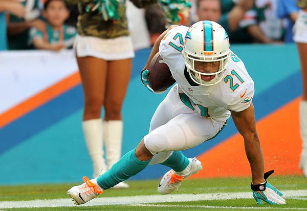 Brent Grimes, the gritty, diminutive corner, has been a revelation and a defensive bright spot.