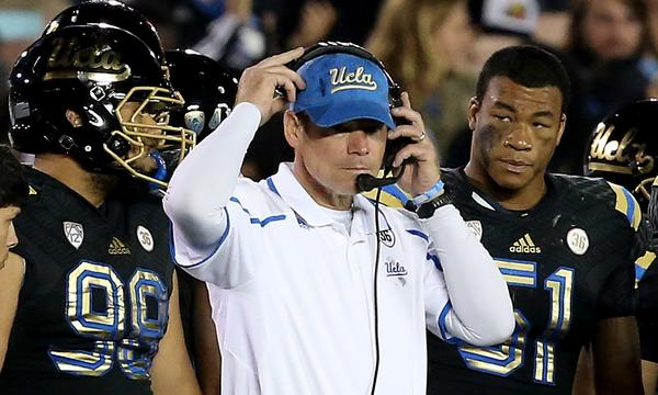 UCLA Coach Jim Mora says hard-fought games in the first half of the season have prepared the Bruins for tough, late-season conference contests.