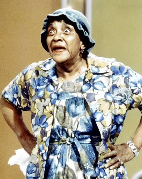 Moms Mabley is credited with influencing many comedians, including Eddie Murphy and Joan Rivers.